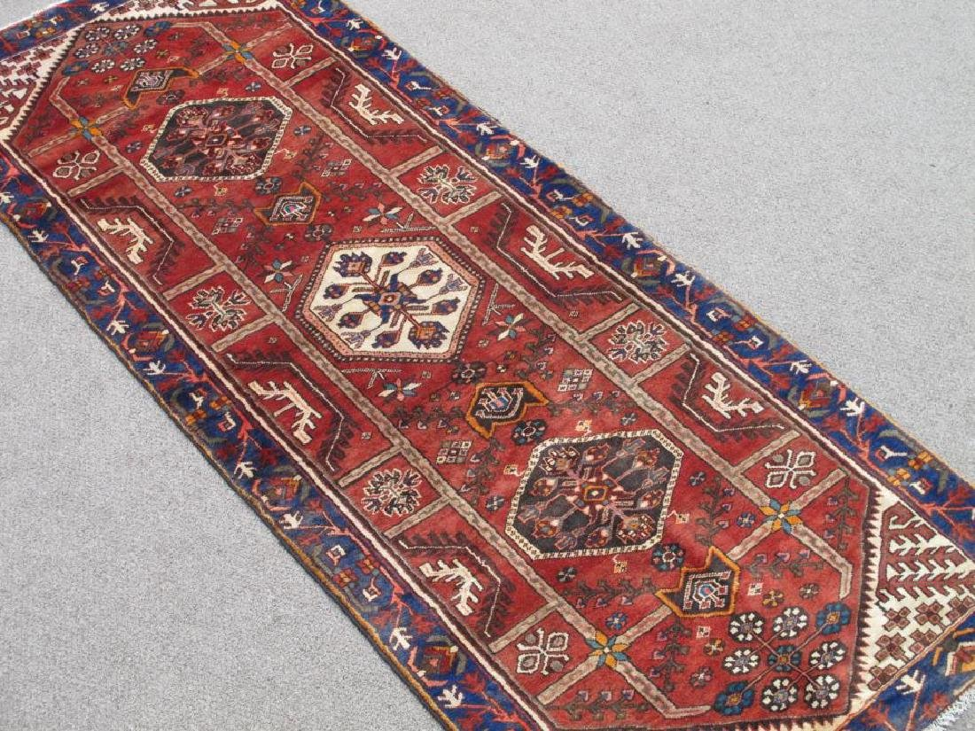 Beautiful Handmade Semi Antique Persian Bakhtiari Rug - 2