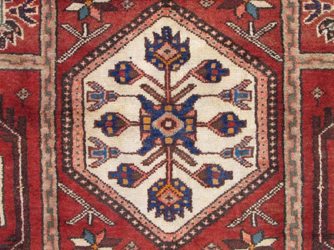 Beautiful Handmade Semi Antique Persian Bakhtiari Rug - 4