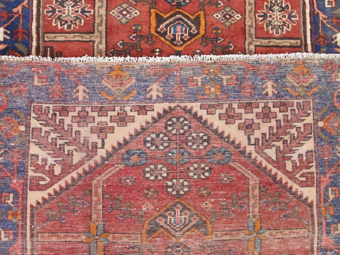 Beautiful Handmade Semi Antique Persian Bakhtiari Rug - 5