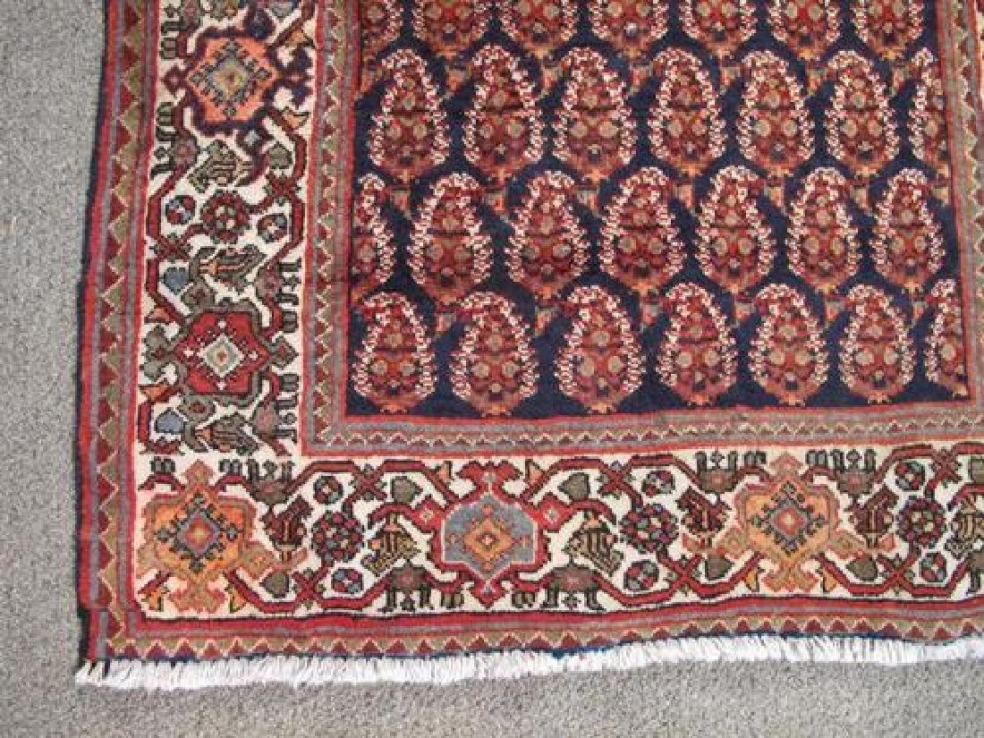 Simply Beautiful Semi Antique Persian Sarouk Mir - 3