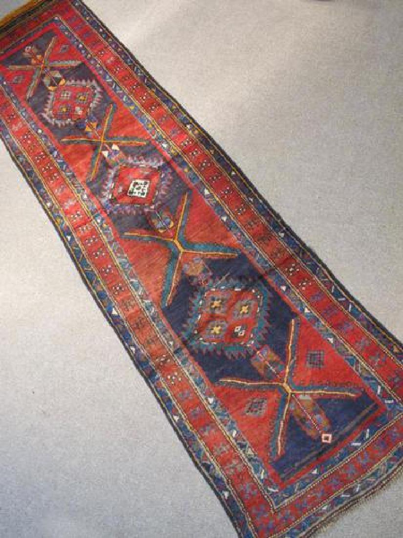 Outstanding Dark Toned Semi Antique Persian Kurdish - 2