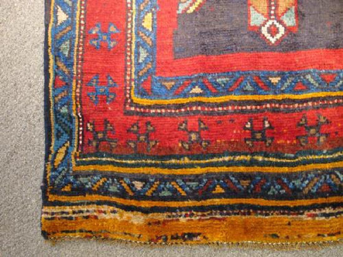 Outstanding Dark Toned Semi Antique Persian Kurdish - 3