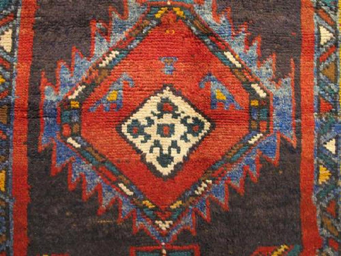 Outstanding Dark Toned Semi Antique Persian Kurdish - 4