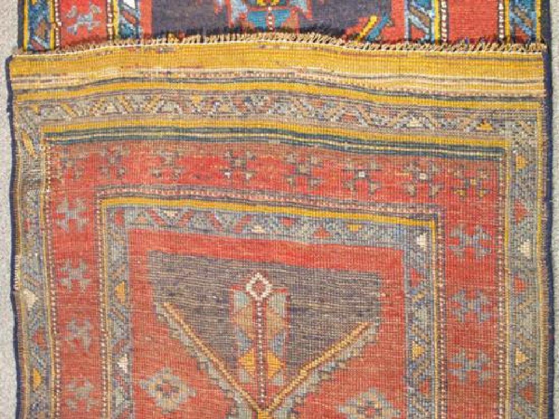 Outstanding Dark Toned Semi Antique Persian Kurdish - 5