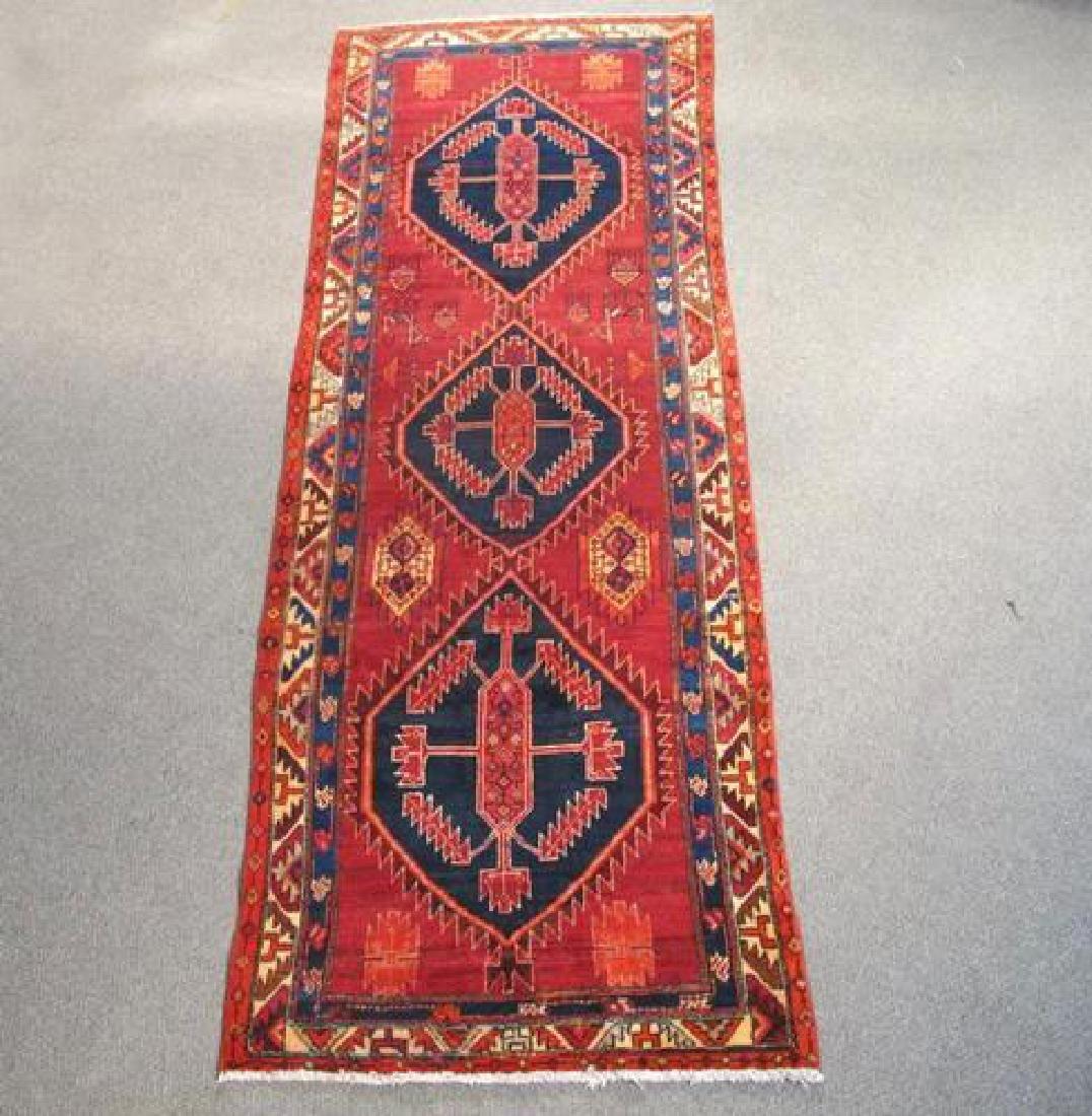 Very Fine Artistic Semi Antique Persian Malayer 10ft