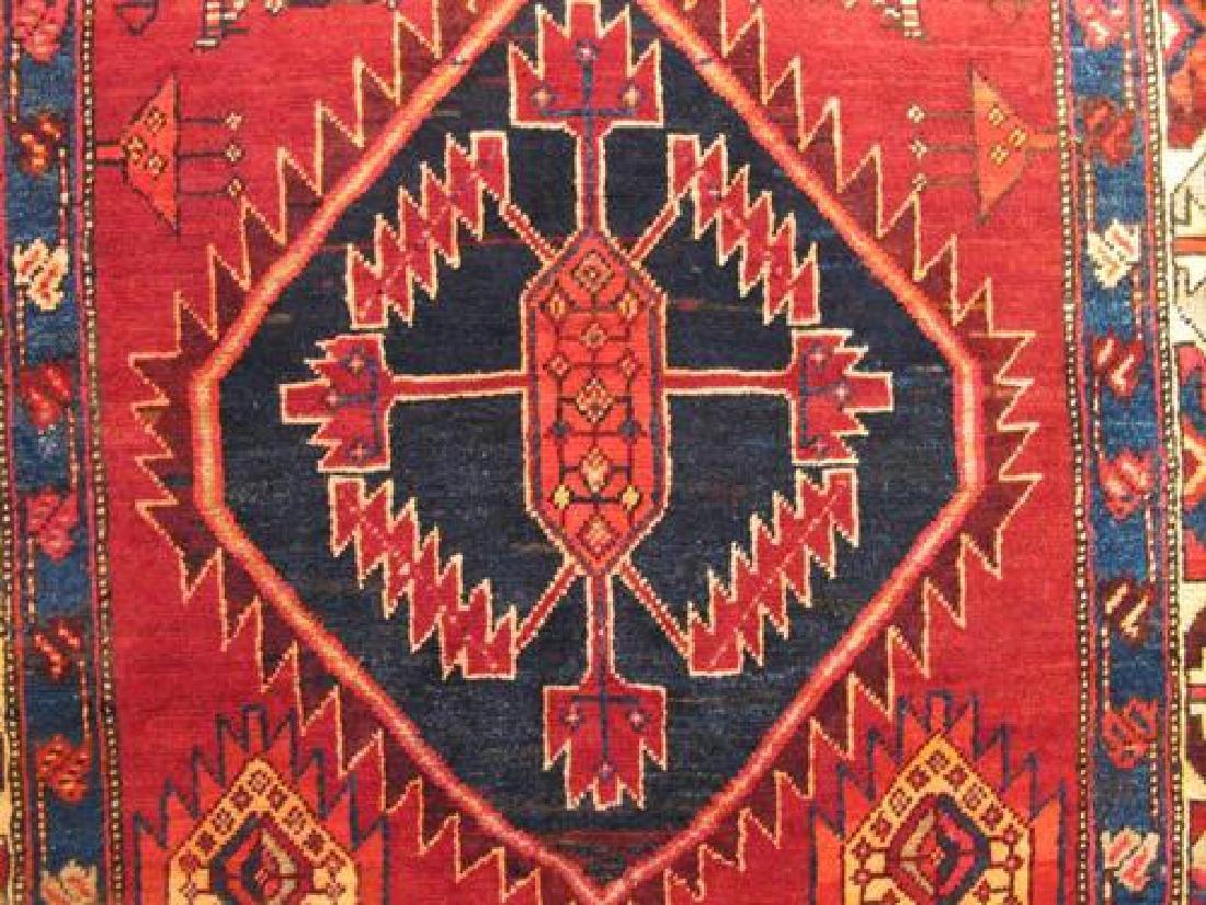 Very Fine Artistic Semi Antique Persian Malayer 10ft - 4