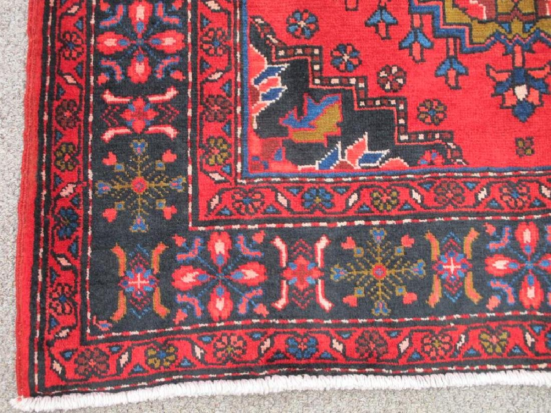 Stunning Hand Woven Semi Antique Persian Hamadan Rug - 3