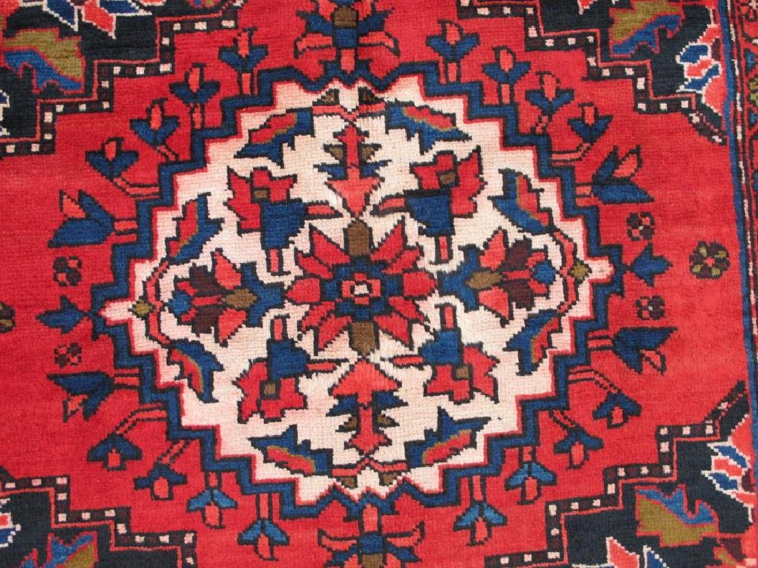 Stunning Hand Woven Semi Antique Persian Hamadan Rug - 4