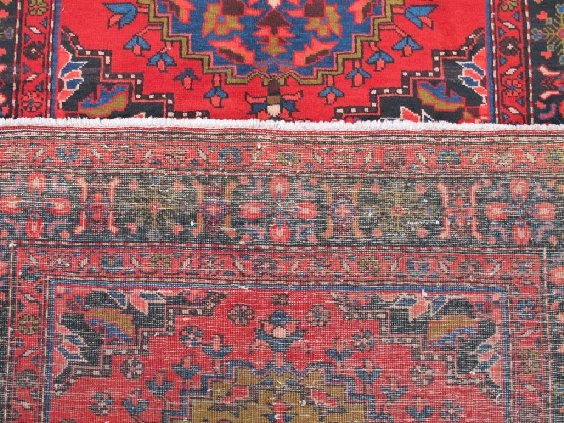 Stunning Hand Woven Semi Antique Persian Hamadan Rug - 5