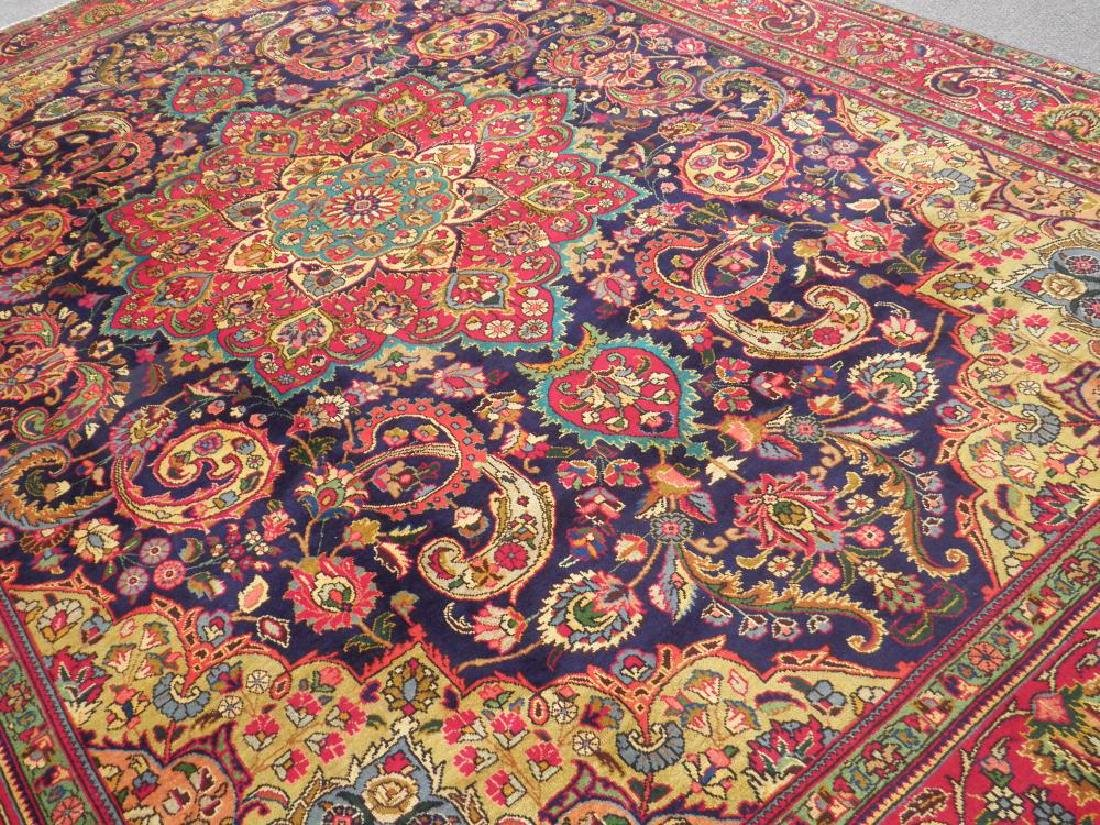 Stunning Semi Antique Persian Tabriz 12.11x9.5 - 2