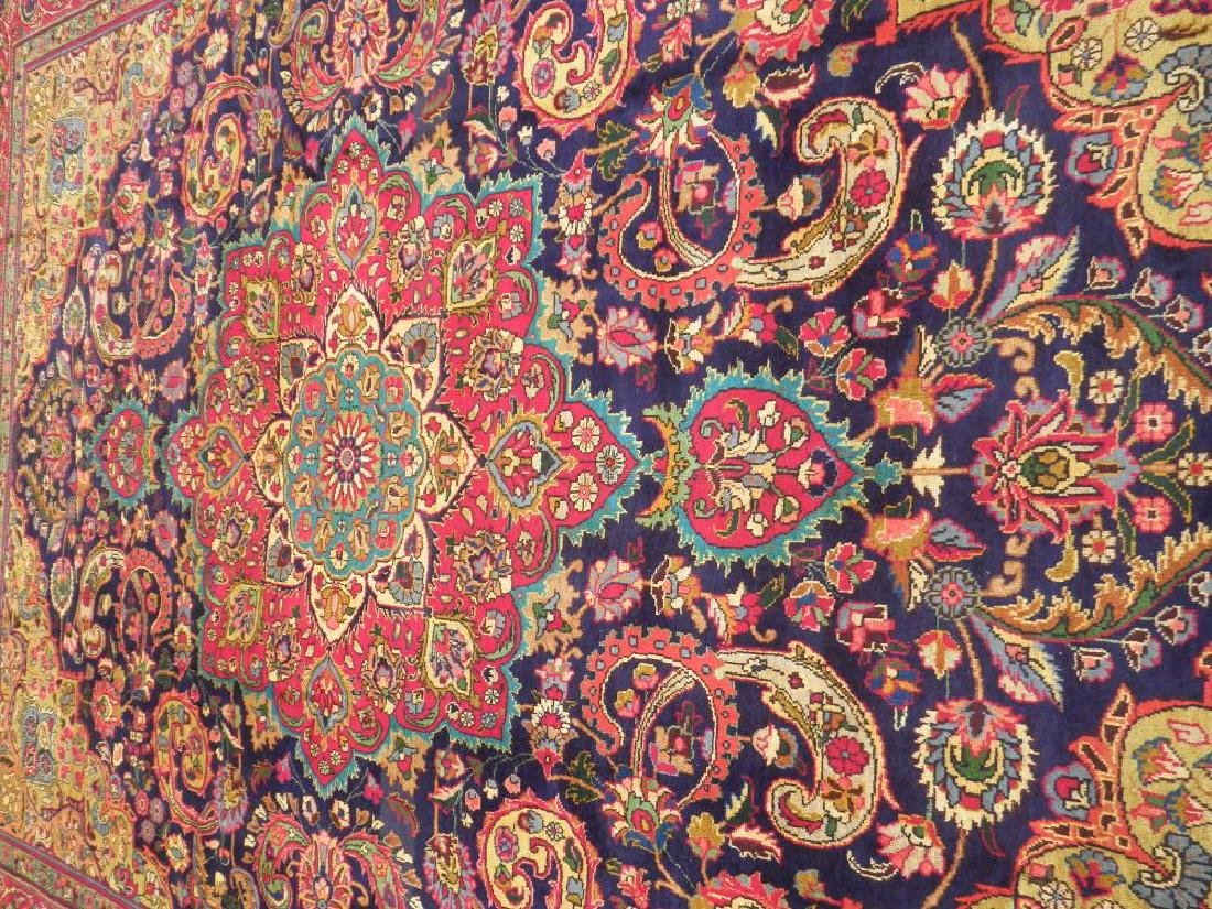 Stunning Semi Antique Persian Tabriz 12.11x9.5 - 3
