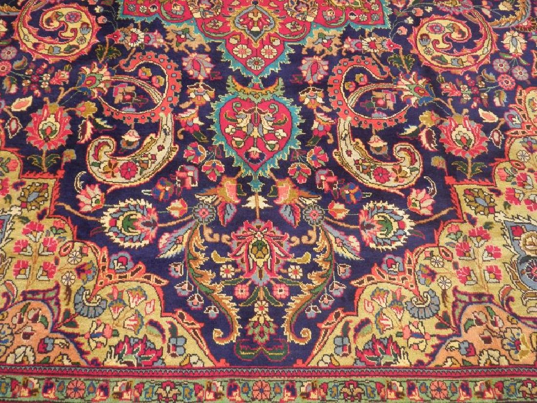 Stunning Semi Antique Persian Tabriz 12.11x9.5 - 4