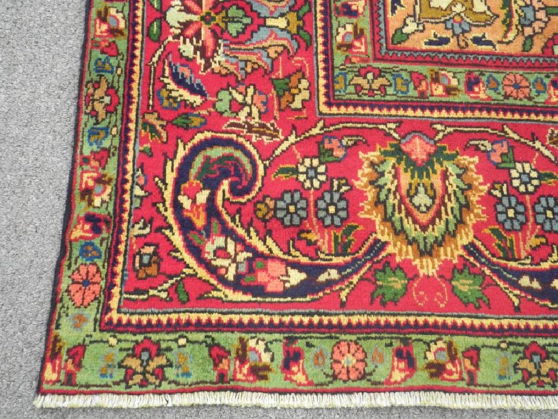 Stunning Semi Antique Persian Tabriz 12.11x9.5 - 7