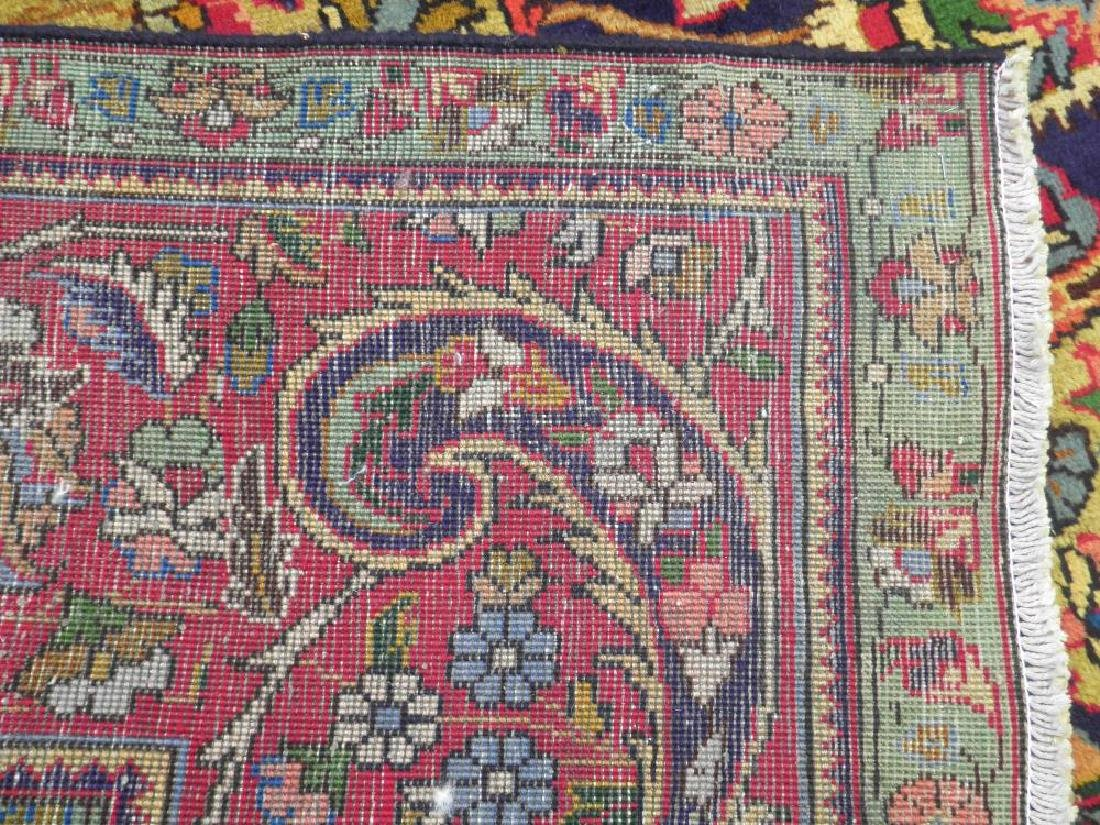 Stunning Semi Antique Persian Tabriz 12.11x9.5 - 8