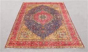 Stunning Semi Antique Persian Tabriz 131x102