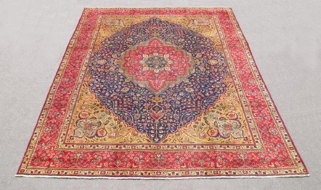 Stunning Semi Antique Persian Tabriz 13.1x10.2