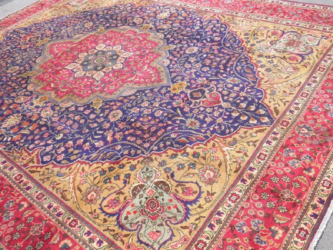 Stunning Semi Antique Persian Tabriz 13.1x10.2 - 2