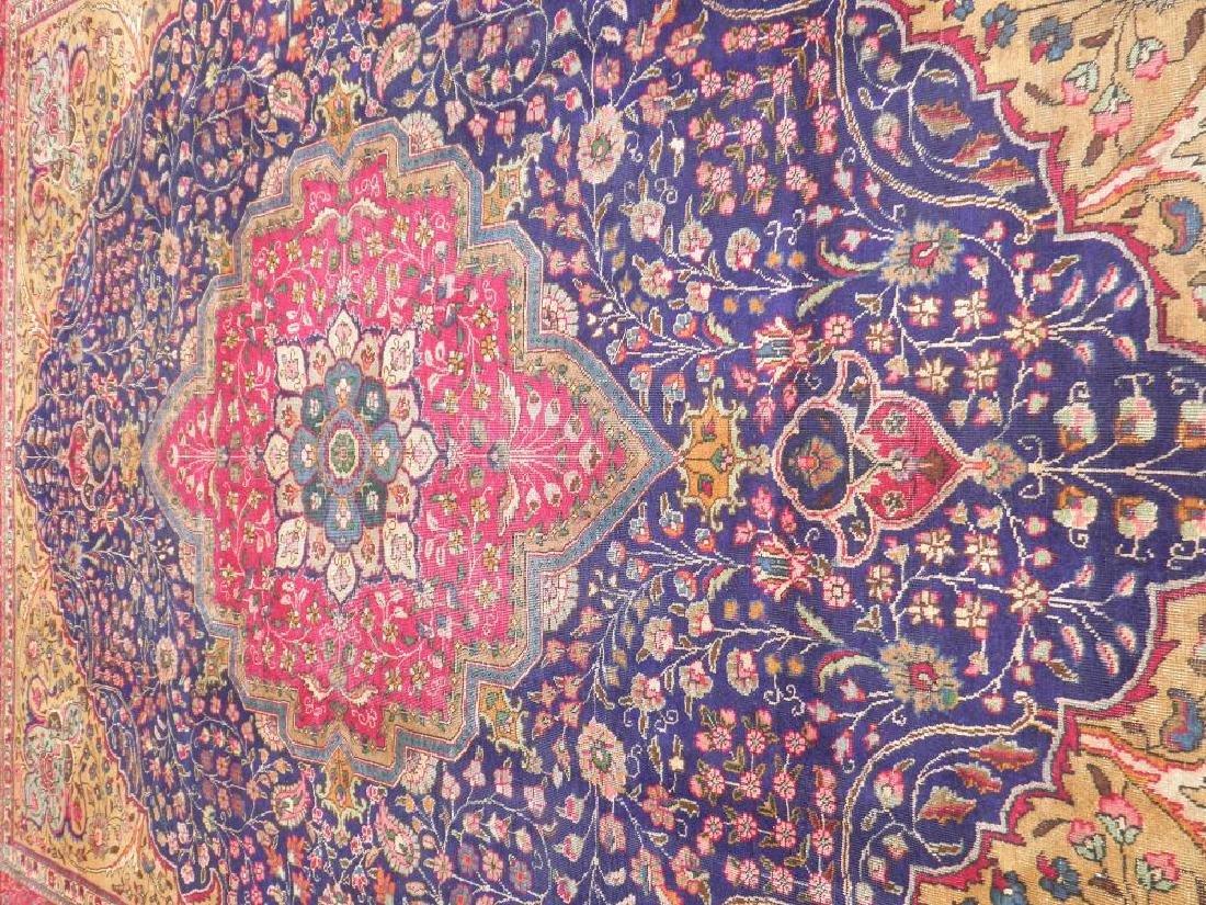 Stunning Semi Antique Persian Tabriz 13.1x10.2 - 3