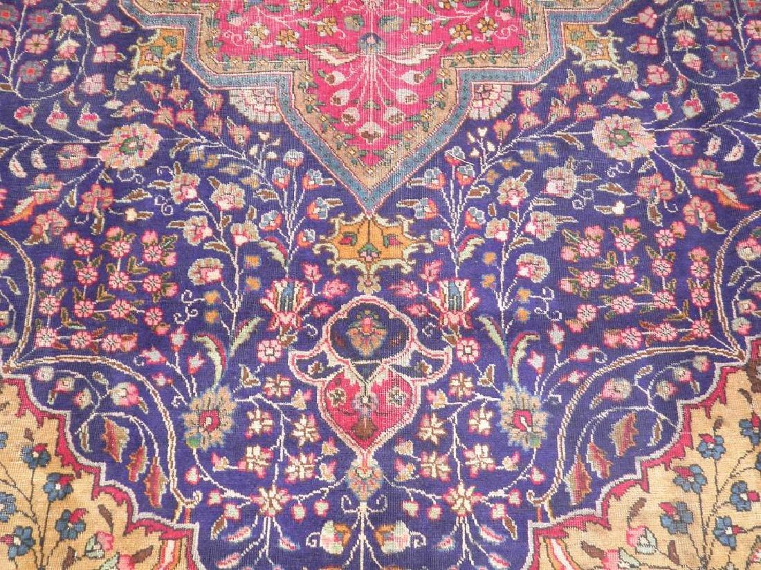Stunning Semi Antique Persian Tabriz 13.1x10.2 - 4