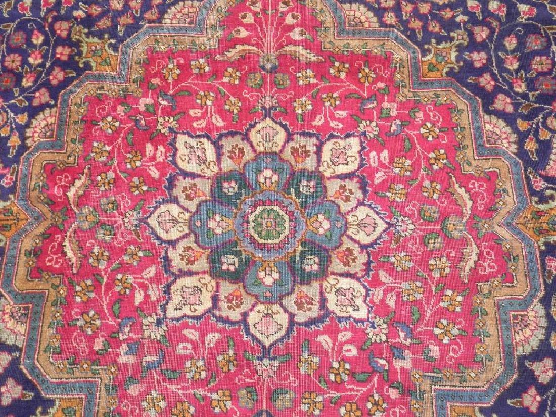 Stunning Semi Antique Persian Tabriz 13.1x10.2 - 5