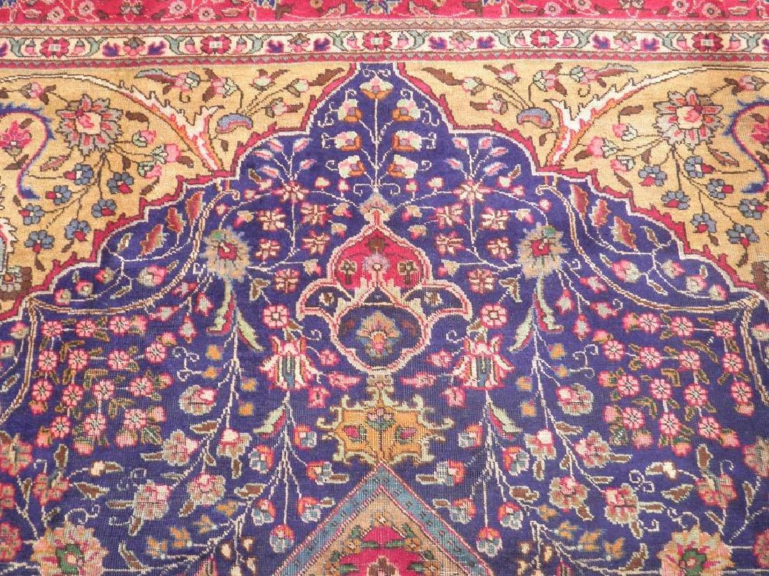 Stunning Semi Antique Persian Tabriz 13.1x10.2 - 6