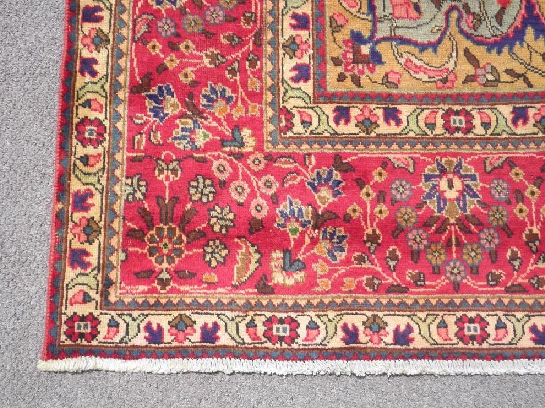 Stunning Semi Antique Persian Tabriz 13.1x10.2 - 7