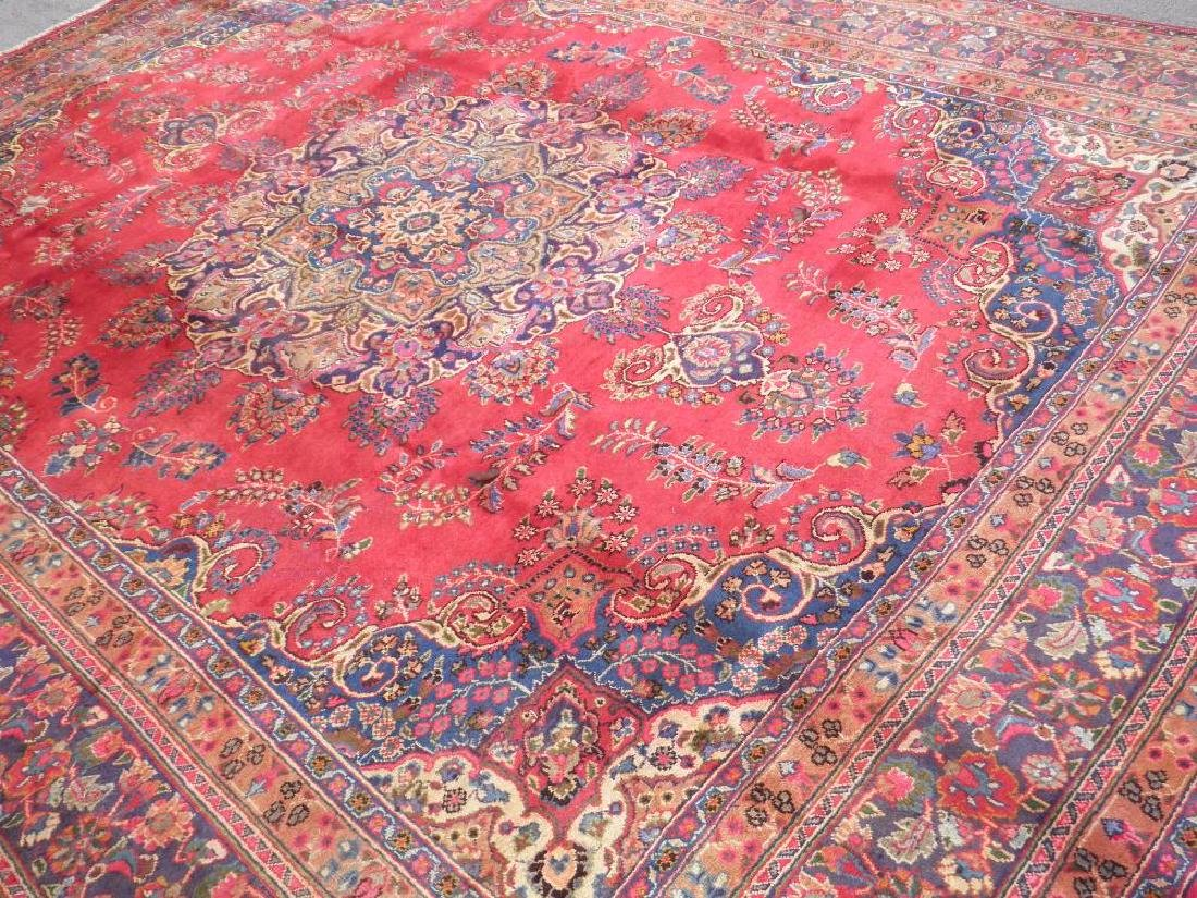 Strikingly Beautiful Semi Antique Persian Tabriz - 2