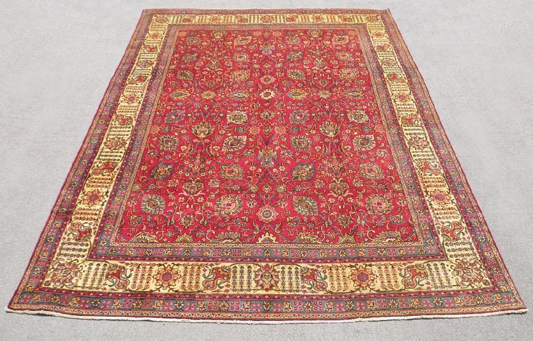Fascinating Semi Antique All Over Persian Tabriz