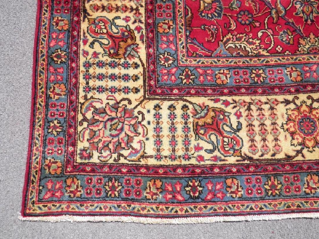 Fascinating Semi Antique All Over Persian Tabriz - 6