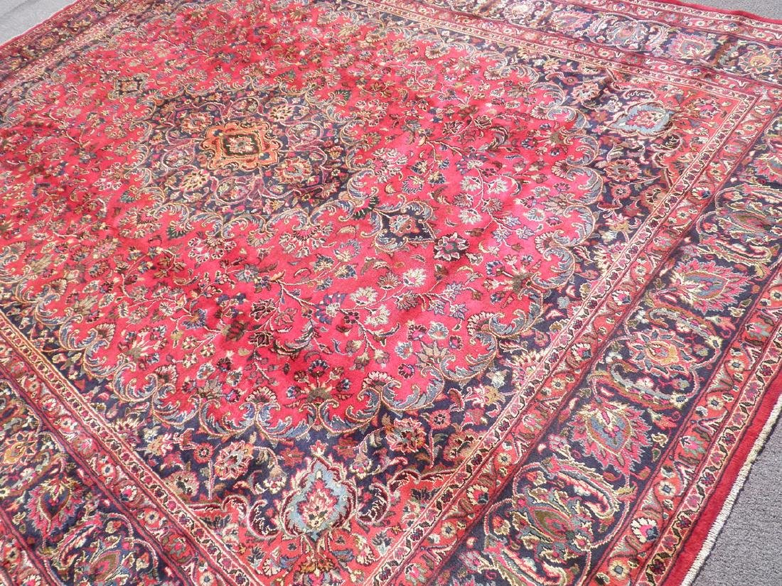 Stunning Semi Antique Persian Mashhad 9.8x12.5 - 2