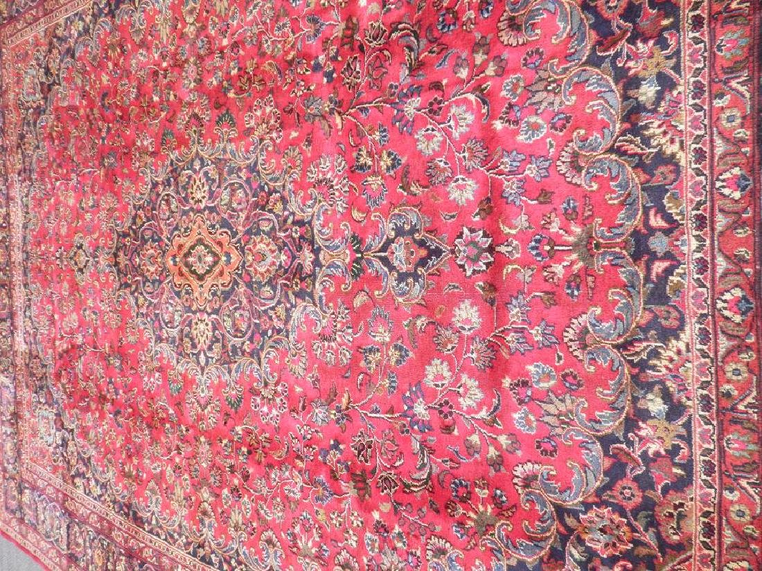 Stunning Semi Antique Persian Mashhad 9.8x12.5 - 3