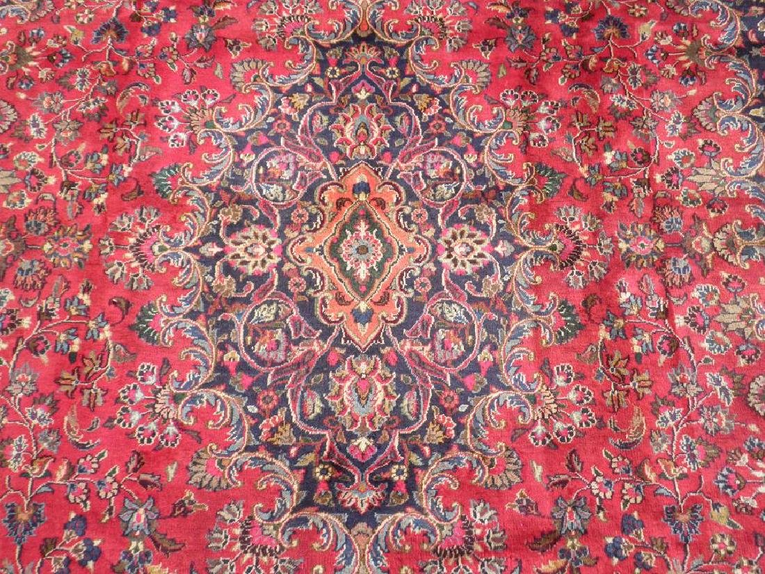 Stunning Semi Antique Persian Mashhad 9.8x12.5 - 4