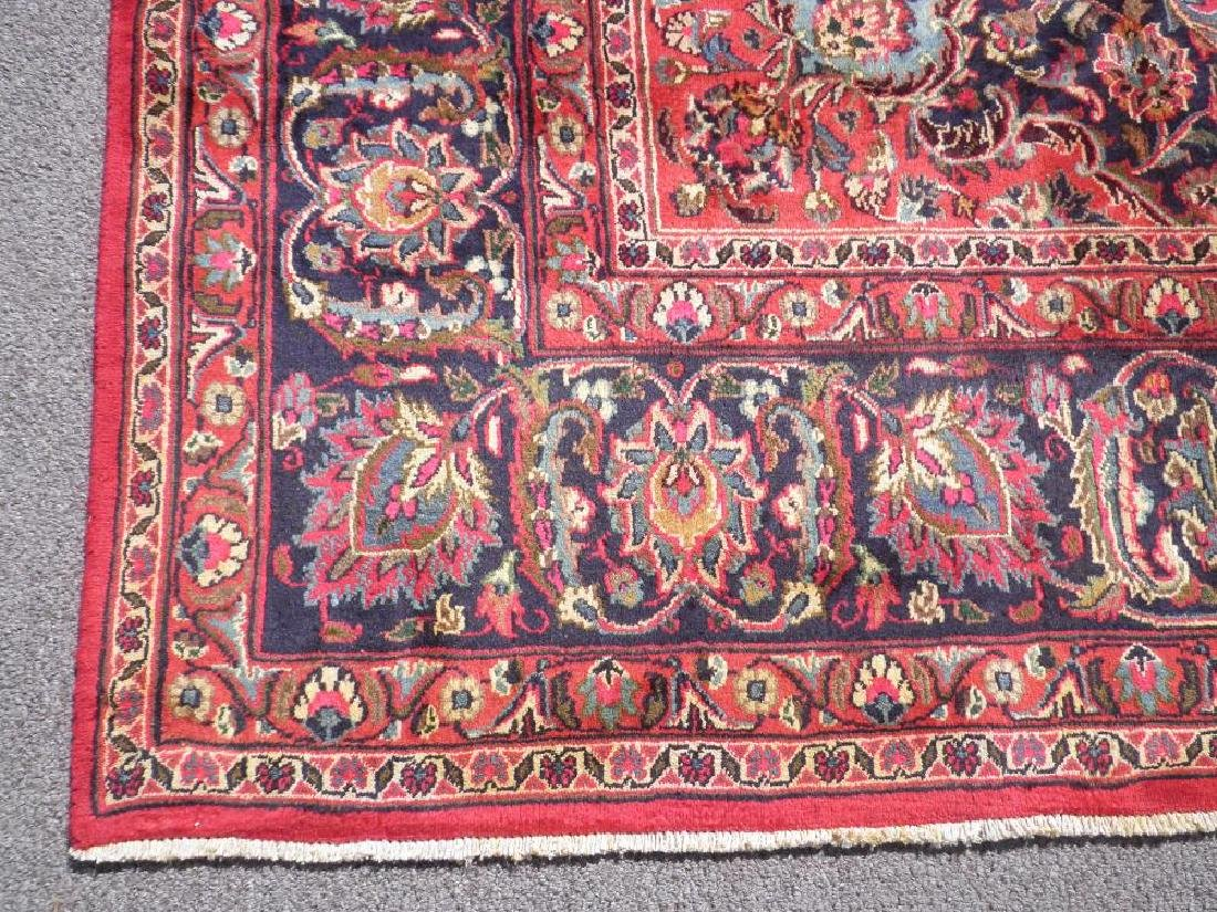 Stunning Semi Antique Persian Mashhad 9.8x12.5 - 5