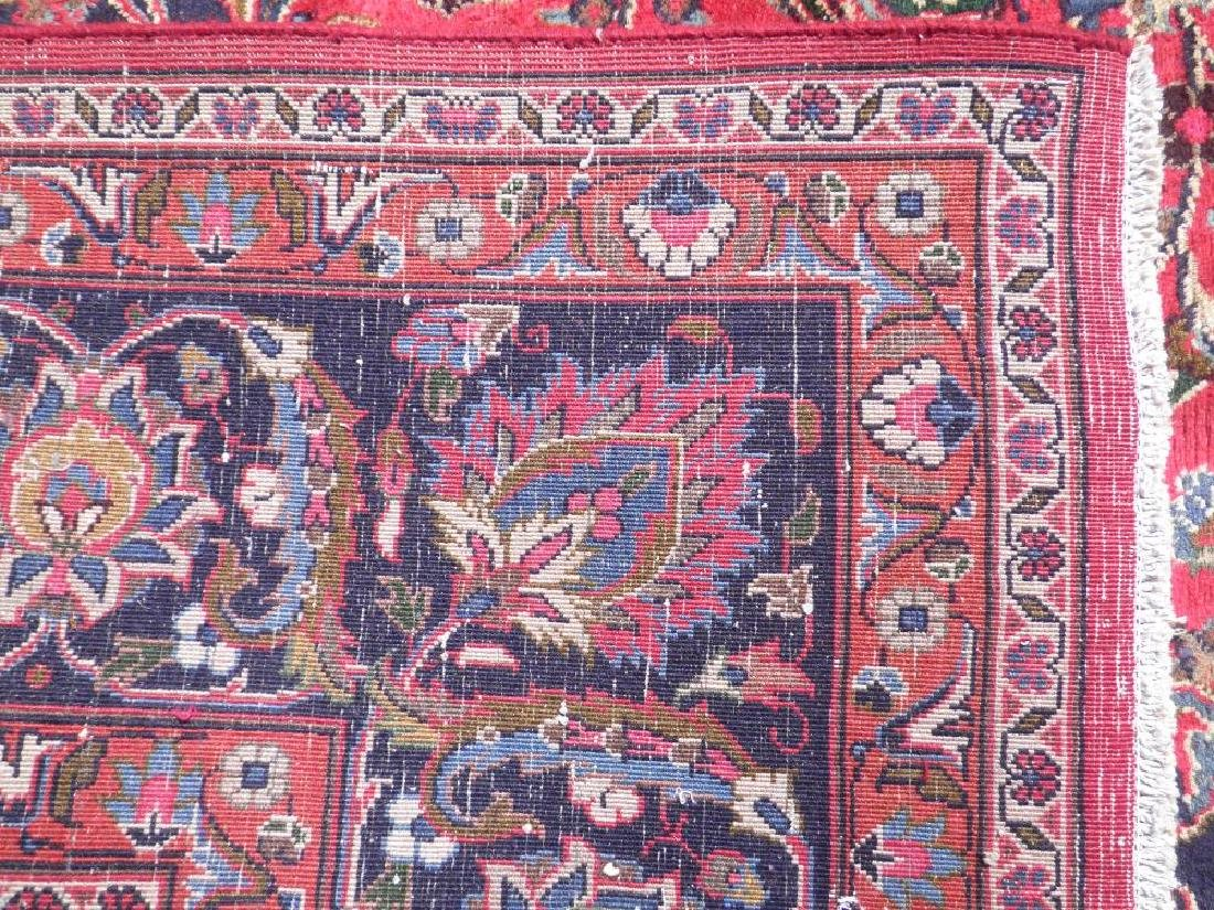Stunning Semi Antique Persian Mashhad 9.8x12.5 - 6