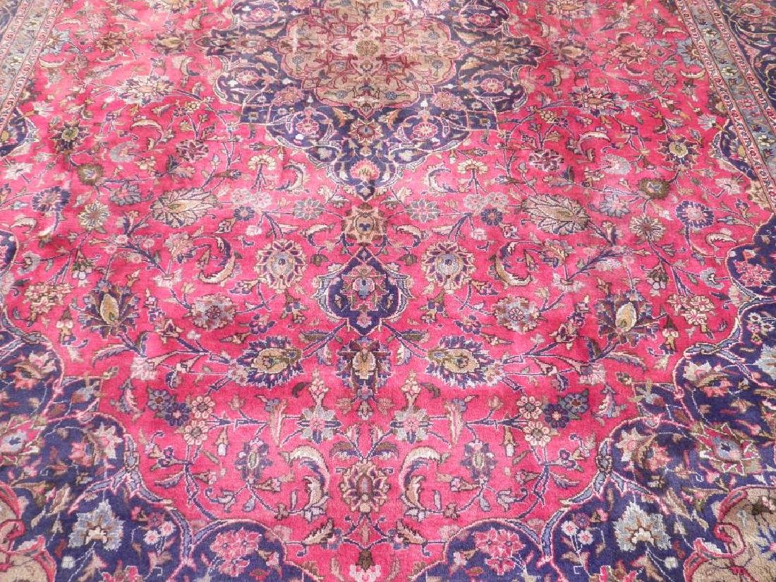Investment Semi Antique Persian Mashhad 12.9x9.6 - 3