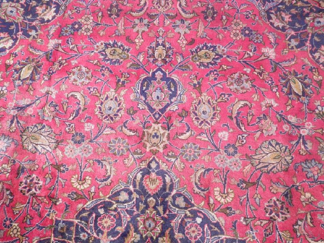 Investment Semi Antique Persian Mashhad 12.9x9.6 - 5