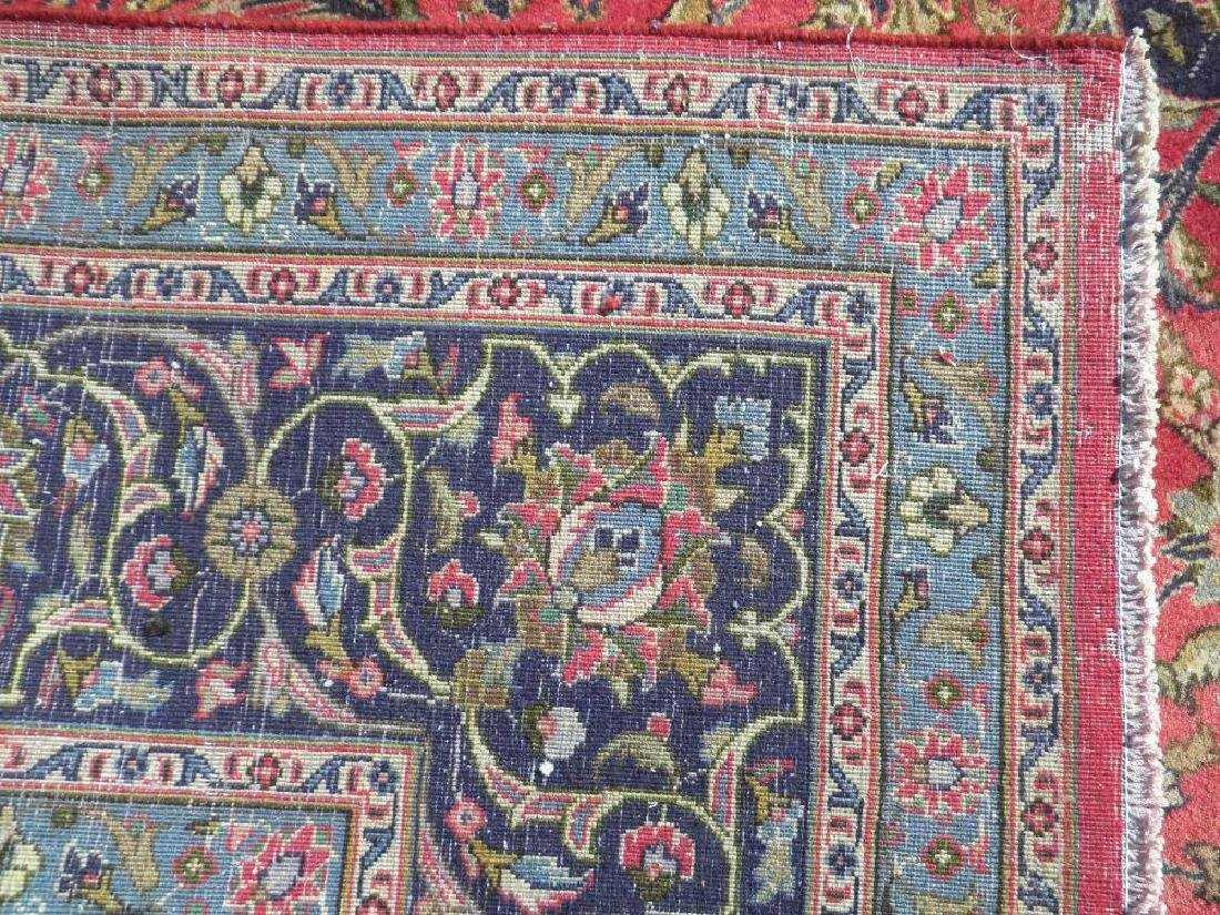 Investment Semi Antique Persian Mashhad 12.9x9.6 - 7