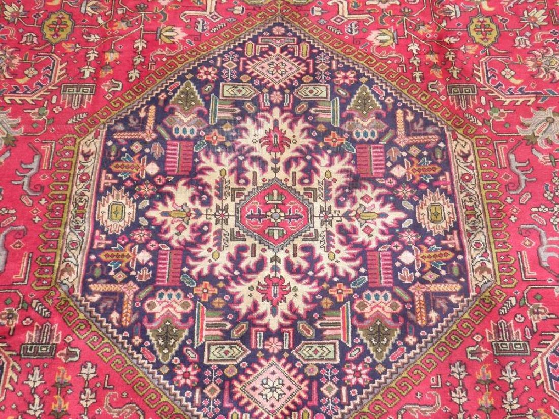 Quite Mesmerizing Semi Antique Persian Tabriz 12.4x9.9 - 5
