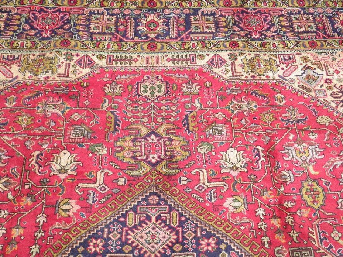 Quite Mesmerizing Semi Antique Persian Tabriz 12.4x9.9 - 6