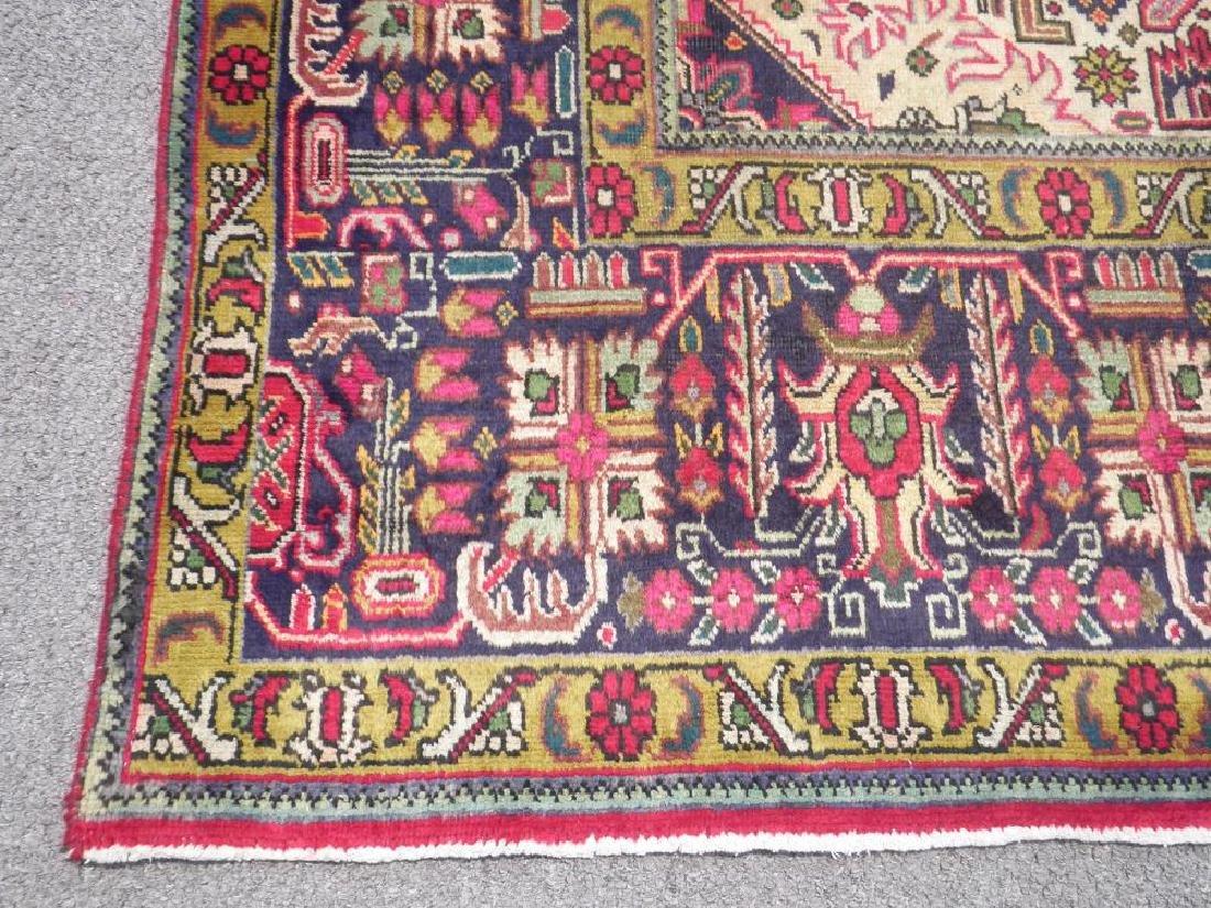 Quite Mesmerizing Semi Antique Persian Tabriz 12.4x9.9 - 7