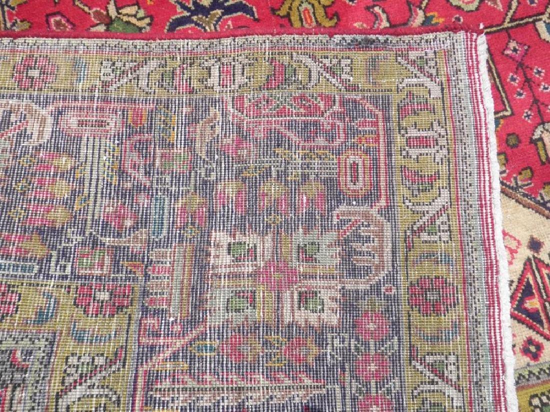 Quite Mesmerizing Semi Antique Persian Tabriz 12.4x9.9 - 8