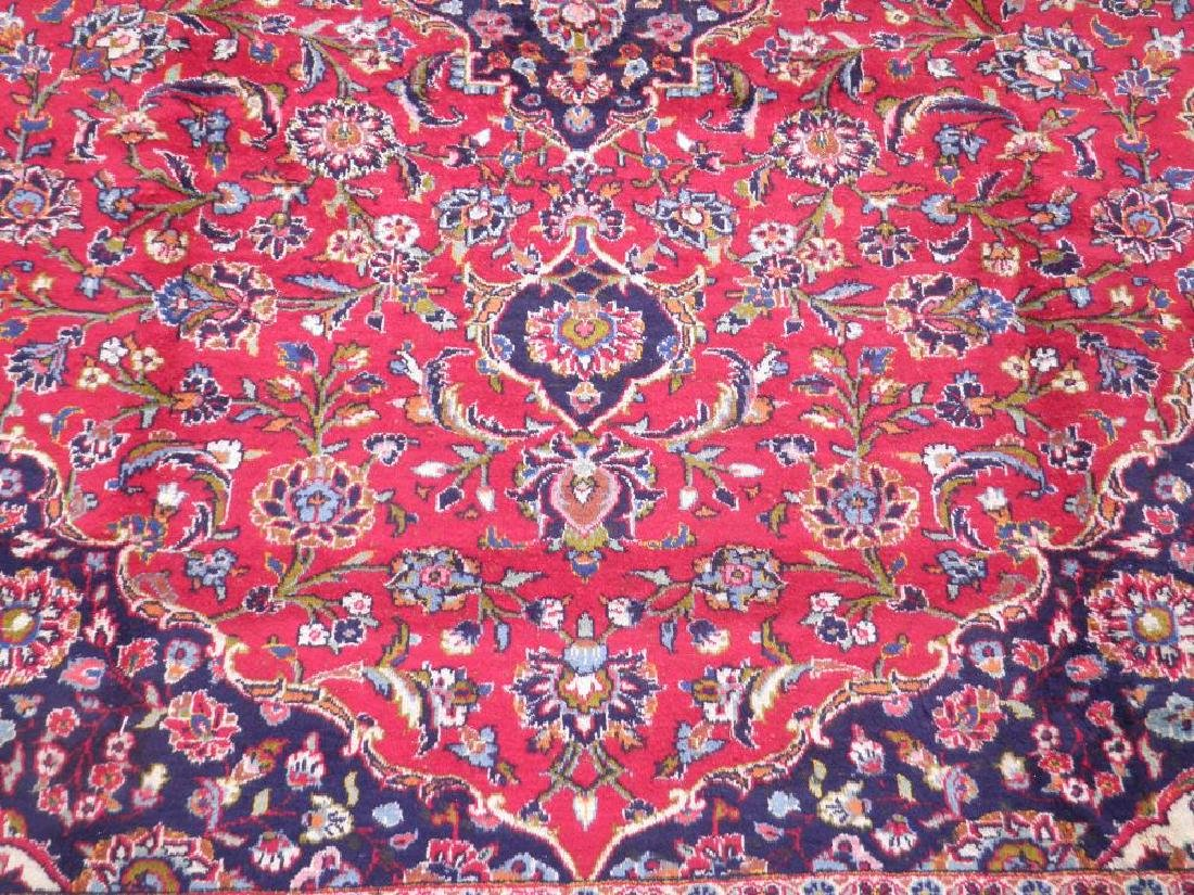 Beautiful Semi Antique Persian Kashan 13.0x9.7 - 3