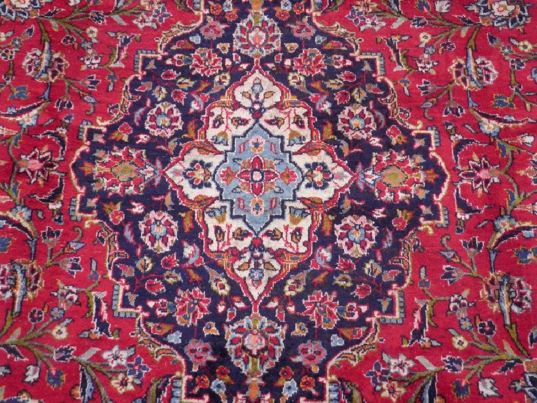 Beautiful Semi Antique Persian Kashan 13.0x9.7 - 4