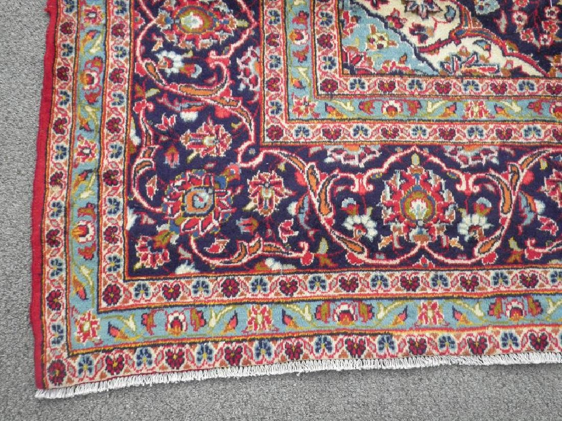 Beautiful Semi Antique Persian Kashan 13.0x9.7 - 6