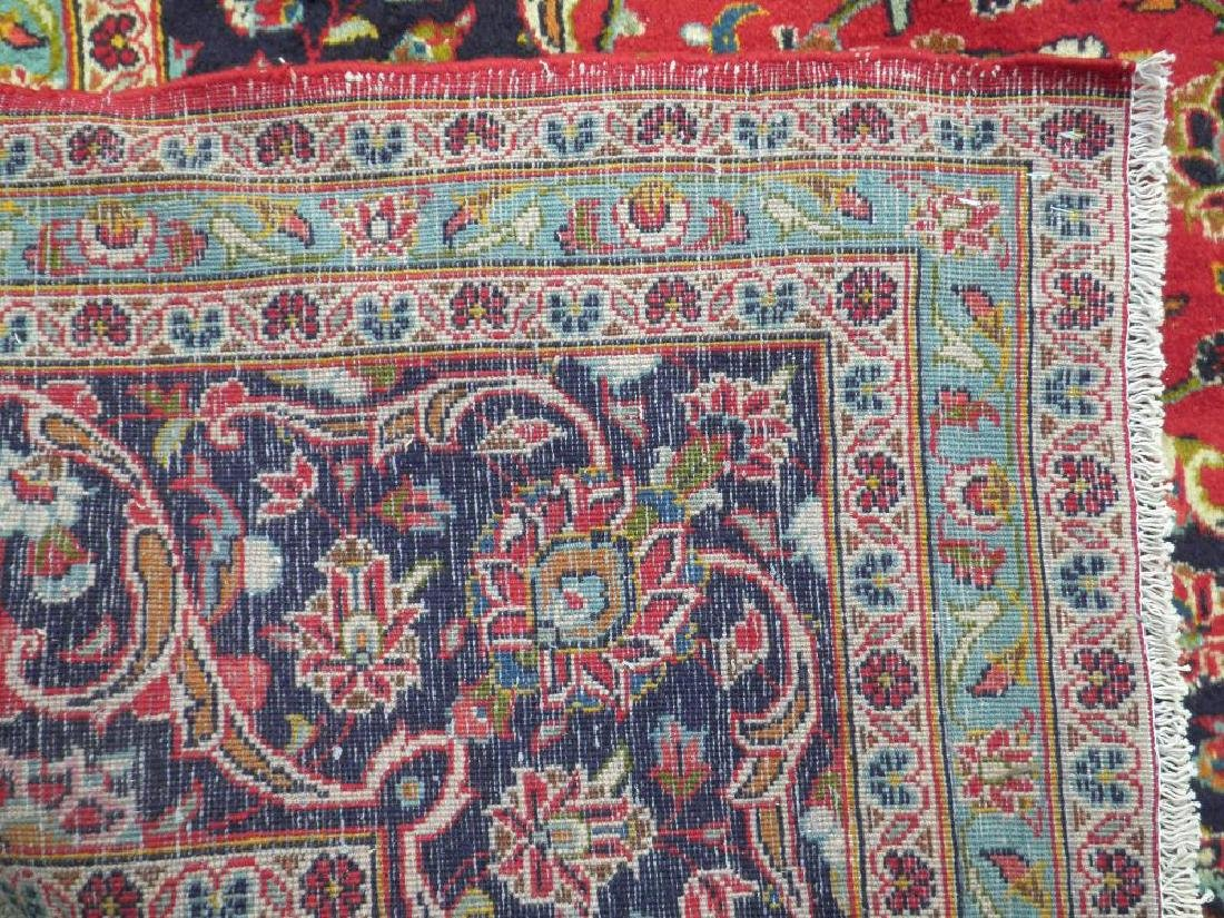 Beautiful Semi Antique Persian Kashan 13.0x9.7 - 7