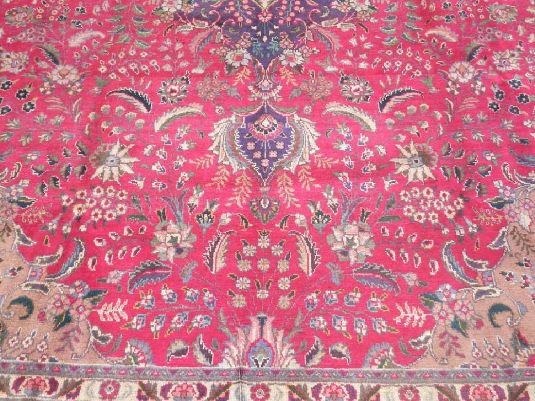Authentic Semi Antique Persian Tabriz 13.5x9.6 - 4