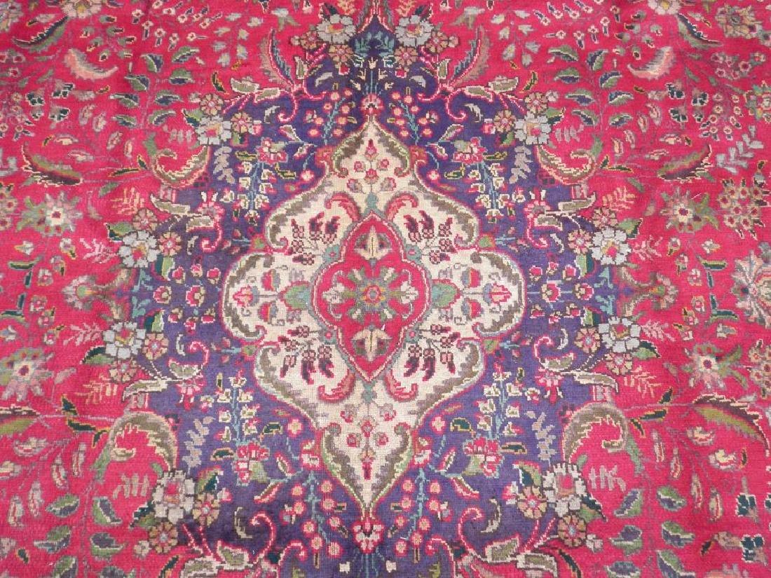 Authentic Semi Antique Persian Tabriz 13.5x9.6 - 5