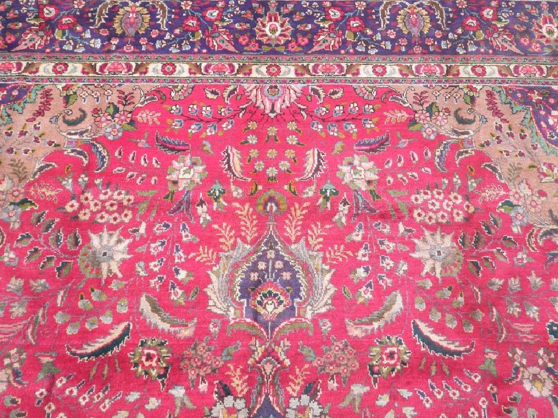 Authentic Semi Antique Persian Tabriz 13.5x9.6 - 6