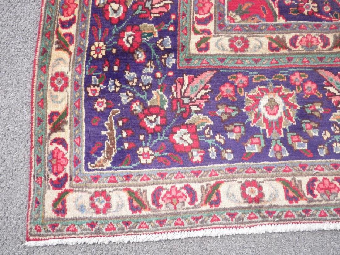 Authentic Semi Antique Persian Tabriz 13.5x9.6 - 7