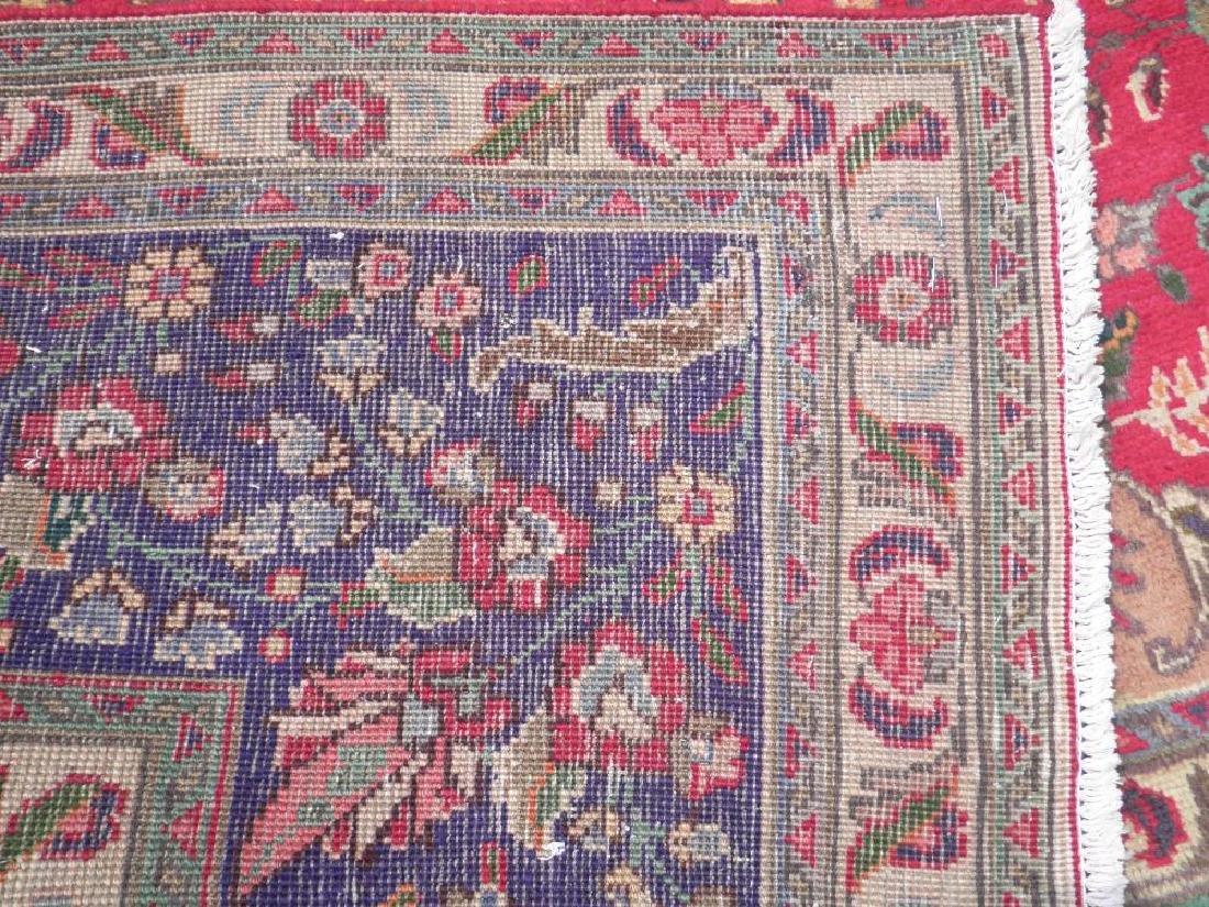 Authentic Semi Antique Persian Tabriz 13.5x9.6 - 8